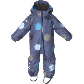 Isbjörn Toddlers Padded Jumpsuit Denim Globe